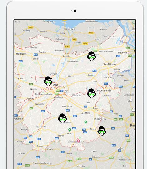 Attractieverhuur Oost-Vlaanderen