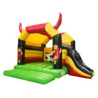 Football 3D: springkasteel met glijbaan & Rode Duivels
