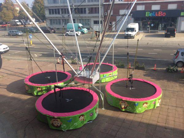 bungee trampoline huren