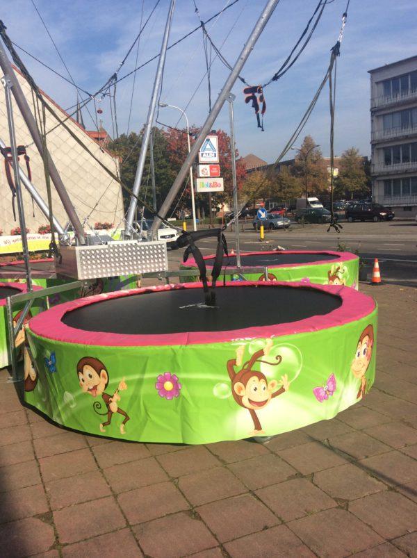 4 trampolines huren